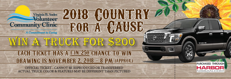 VBA Clinic Country for a Cause WIN a Truck