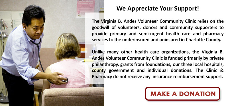 Donate-Now-to the VBA Clinic & Pharmacy