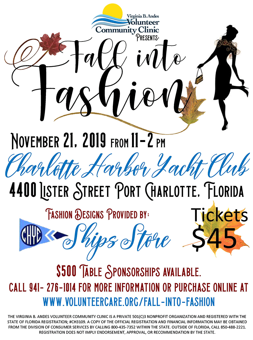 2019 Fall Into Fashion Show