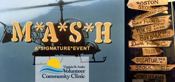 VBA Clinic MASH Fundraiser banner