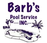 Barb's Pool Service, Inc. Logo