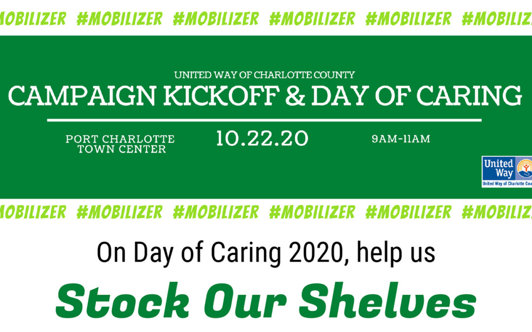 Day of Caring, Oct 22, Stock Our Shelves